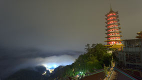 Genting Górska Świątynna pagoda Obraz Stock