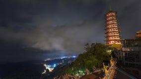 Genting Górska Świątynna pagoda Zdjęcia Royalty Free