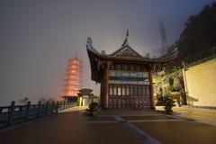 Genting Górska Świątynna pagoda Obrazy Royalty Free