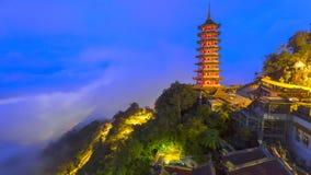 Genting Górska Świątynna pagoda Zdjęcie Royalty Free
