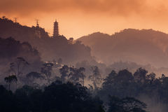 Genting Highland. A view from small town in Genting Stock Photo