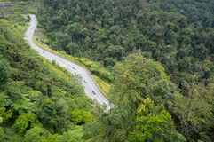 Genting highland road downhill Stock Photo