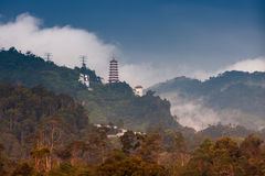Genting Highland. A view from small town in Genting Stock Image
