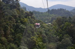 Genting Highlands. The hill resort is at an average elevation of 1,740 metres 5,710 ft within the Titiwangsa Mountains on the border between the states of Pahang Stock Photos