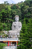 Genting Highlands in Malaysia. Pahang,Malaysia - January 25,2015:Stone buddha which is located at Chin Swee Caves Temple,Genting Highland.People can see having Stock Photography