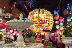 Genting Highlands, Malaysia - SEPTEMBER 26: Colorful Light Ball stock photography