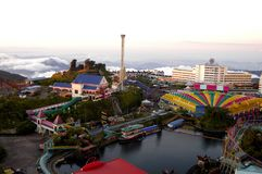 Genting Highlands. Resorts World Genting Abbreviation: RWG, originally known as Genting Highlands Resort is an integrated hill resort development comprising stock photography