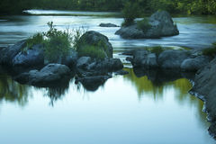 Gentle подача, река Farmington, лес положения Nepaug, новый Hartford Стоковое Изображение RF