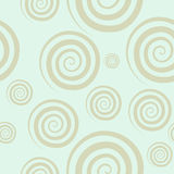 Gentle abstract seamless pattern. Vector gentle abstract seamless pattern. Hypnotic circle Royalty Free Stock Photos