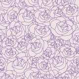 Gentle abstract seamless pattern Royalty Free Stock Photography