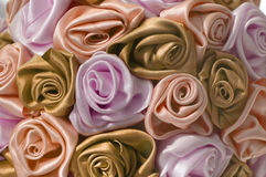 Gentle background with beige buds. One of a large set of floral backgrounds Stock Photo