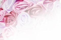 Gentle background from pink buds, one of a large set of floral backgrounds Royalty Free Stock Images