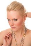 Gentle blond Stock Image