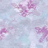 Gentle blurred pink blue abstract oil painting on canvas or textured paper. Traditional motives Royalty Free Stock Image