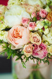 Gentle bouquet. Instagram effect, vintage colors. Stock Photo