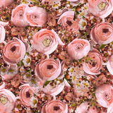 Gentle bouquet from pink roses Royalty Free Stock Image