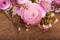 Gentle bouquet from roses Royalty Free Stock Photography