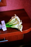 Gentle bridal bouquet Royalty Free Stock Photo