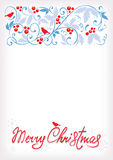 Gentle Christmas background Stock Photos