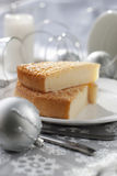 Gentle Christmas pie Royalty Free Stock Photos