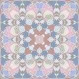 Gentle colored handkerchief Stock Images