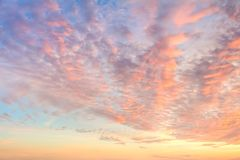Free Gentle Colors Of Sky With Light Clouds - Background At Sunrise Time Stock Photos - 158237693