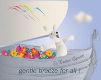 Gentle easter breeze Stock Photos
