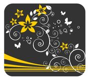 Gentle floral pattern Stock Images