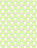 Gentle floral pattern Royalty Free Stock Image