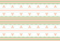 Gentle floral seamless geometric wallpaper pattern Royalty Free Stock Image