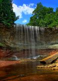 Gentle Flow of Indian Falls royalty free stock photo
