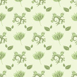 Gentle green  seamless pattern Stock Photo