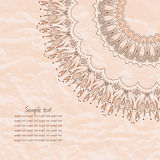 Gentle lace greeting card. Stock Photo