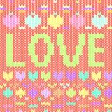 Gentle love. Vector graphic illustration design art Stock Photos