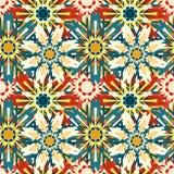 Gentle mandala on a light background vintage ethnic ornament vector illustration Royalty Free Stock Image