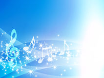 Gentle Musical Background Royalty Free Stock Photos