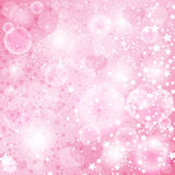 Gentle Pink Valentine Background Stock Images