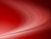 Gentle red waves Stock Image