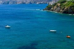 Gentle sea. Agia Pelagia. Crete Island. Greece Stock Images