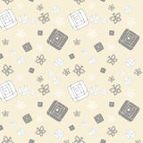 Gentle seamless pattern Stock Photos