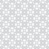 Gentle simple abstract seamless vector pattern on white background Stock Photography