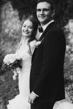 Gentle stylish  elegant couple Royalty Free Stock Image