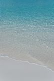 Gentle surf. White sand Stock Photo