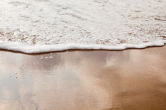 Gentle tide at Virginia Beach Stock Photography