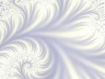 Gentle touch light. Very light and gentle fractal background of swirling flower type pattern vector illustration