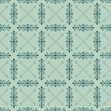 Gentle tribal seamless pattern with ethnic elements royalty free illustration