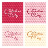 Gentle valentines design Royalty Free Stock Photos