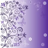 Gentle violet background Stock Image