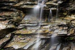 Gentle waterfall Royalty Free Stock Photos