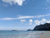 Waimanalo Beach Royalty Free Stock Photo
